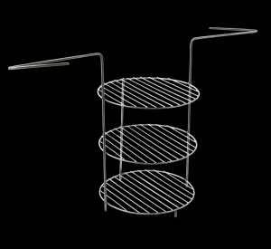 Tandira režģis ar 3 līmeniem -M izmērs/Medium