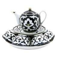 Porcelāna komplekts 9 priekšmeti/Tējas servīze PAHTA