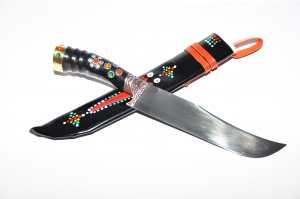 Nazis 310mm/190mm-Uzbeku nacionālais nazis Pchak 270gr