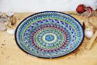 Bļoda - Ljagan (keramika) Diam.42cm